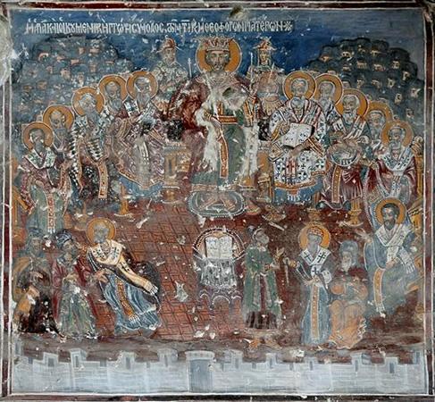 Fresco of Nicea